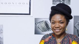 Nelly Wandji, créatrice de la plateforme Moonlook