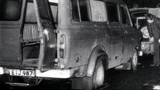 Kingsmills mini-bus