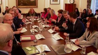 parties meet at Stormont