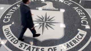 The CIA lobby in Virginia