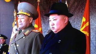 올해 열병식에 등장한 김정은 위원장의 모습