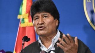 Моралес Боливияны дээрлик он төрт жыл башкарды