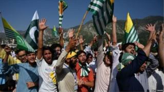 पाक प्रशासित कश्मीर में रैली