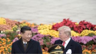 特朗普訪問北京