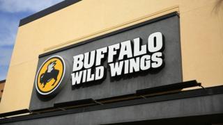 A Buffalo Wild Wings restaurant in Miami, Florida, 28 November 2017