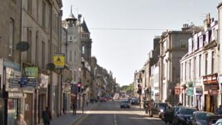 George Street in Aberdeen