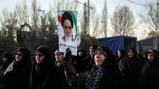 проурядовий мітинг в Ірані