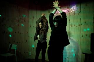 Yuuka Hasumi and Ibuki Ito perform