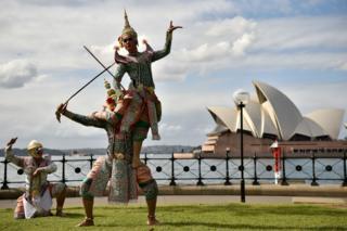 โขนฉลองสัมพันธ์ 65 ปีไทย-ออสเตรเลีย