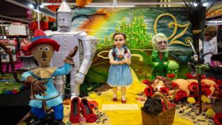 A Wizard of Oz creation on display during Cake International 2019 at the NEC, Birmingham
