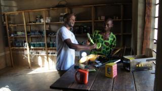 Solar power project in Malawi