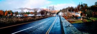 Road to Dunkeld