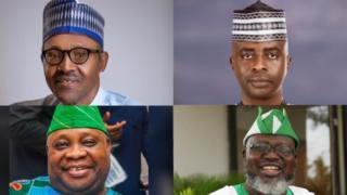 Buhari, Adeleke, Razak Atunwa, Shittu: Politicians wey dey face certificate kwanta