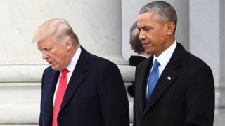 اوبامہ اور ٹرمپ