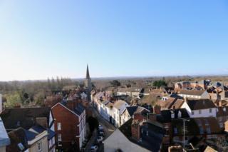 A sunny morning in Abingdon