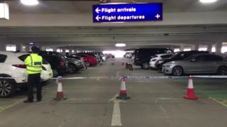 William Brent Taylor collapsed in a Manchester Airport car park