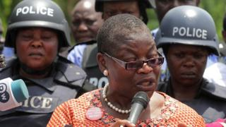 Oby Ezekwesili, oludari ẹgbẹ 'Bring Back Our Girls'