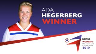 Ada Hegerberg is the BBC Women's Footballer of the Year 2019