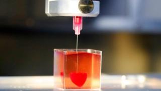 چاپ سه بعدی قلب