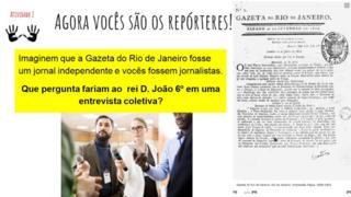 Slide atividade Gazeta do Rio de Janeiro