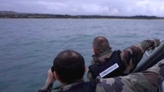 Patrol off French coast