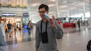 Alek Sigley, an Australian student who was detained in North Korea
