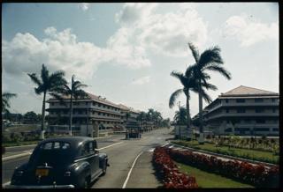 Entrada a la Zona del Canal de Panamá, 1968.