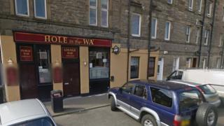 Hole in the Wa Pub in New Street, Musselburgh