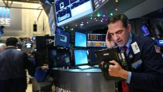 Trader on Wall Street