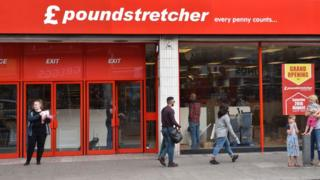 Poundstretcher storefront