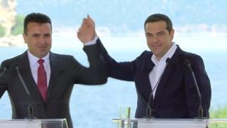 توافق تاریخی یونان و مقدونیه