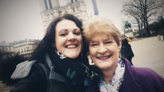 Denise and Carol Evans