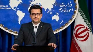عباس موسوی، سخنگوی وزارت خارجه ایران