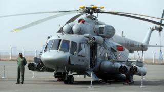 A file photo of Mi-17 V5 helicopter