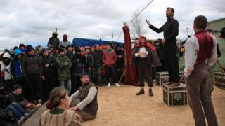 Hamlet is performed in the 'Jungle'