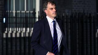 Newly appointed Northern Ireland Secretary Julian Smith leaves Downing Street