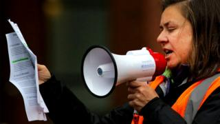 Акция протеста женщин Google