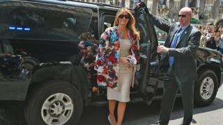 Melania Trump'ın tartışma yaratan 51 bin 500 dolarlık Dolce&Gabbana ceketi