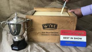 A prize-winning Cheddar