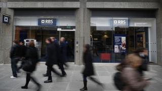 RBS bank branch in London