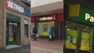 Betting shops in Clydebank