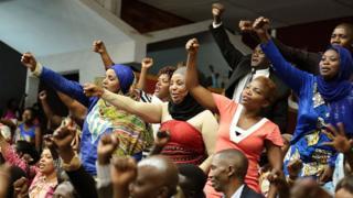 Rwandan parliament