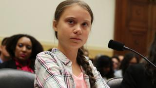 Teenage campaigner Greta Thunberg
