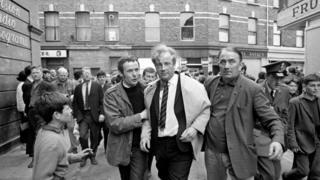 Ivan Cooper was injured in rioting in Londonderry in August 1969