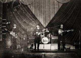 Beatles in Great Yarmouth in 1963
