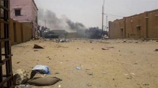 القوات الفرنسية موجودة في مهمة مكافحة الجماعات المسلحة شمالي مالي