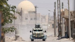 Suriye savaşında yeni cephe