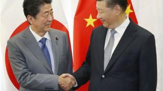 安倍晉三在會面期間邀請習近平訪問日本,但目前未知中方是否會應邀。