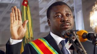 Faure Gnassingbé (file photo)