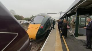 Bristol Parkway new platform